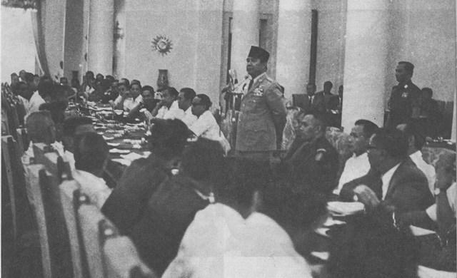 Pelaksanaan Demokrasi Terpimpin di Indonesia Pada 1959 – 1965