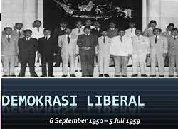 Dampak Demokrasi Liberal Secara Positif Dan Negatif Bagi Bangsa Indonesia Hukamnas Com