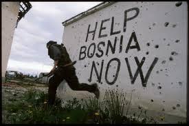 Latar belakang Perang Bosnia Serbia